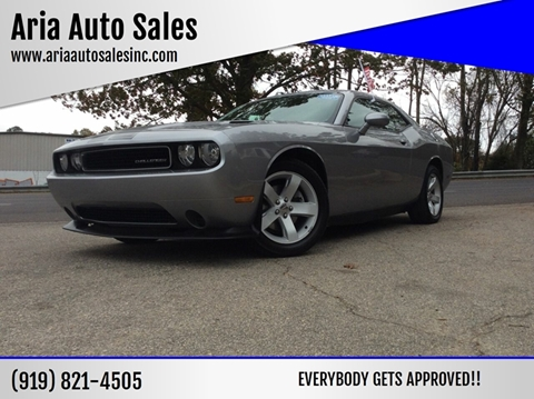 2013 Dodge Challenger for sale at ARIA AUTO SALES in Raleigh NC