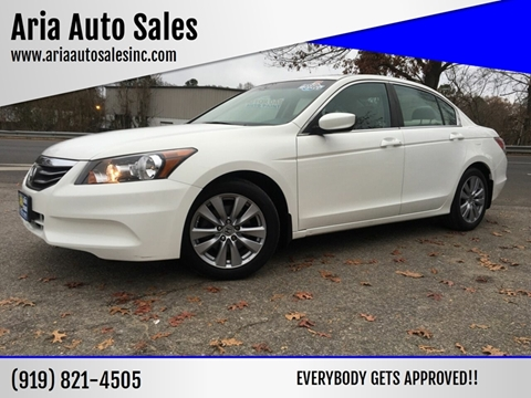 2012 Honda Accord for sale at ARIA AUTO SALES in Raleigh NC