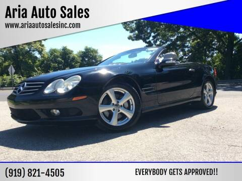 2003 Mercedes-Benz SL-Class for sale at ARIA AUTO SALES in Raleigh NC
