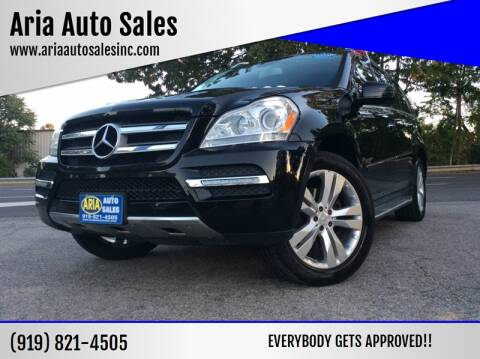 2011 Mercedes-Benz GL-Class for sale at ARIA AUTO SALES in Raleigh NC