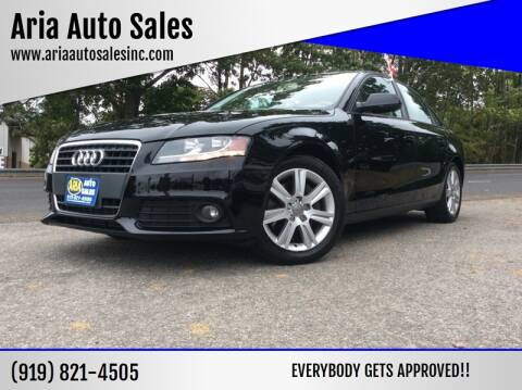 2011 Audi A4 for sale at ARIA AUTO SALES in Raleigh NC