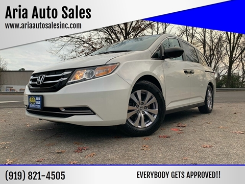 2014 Honda Odyssey for sale at ARIA AUTO SALES in Raleigh NC
