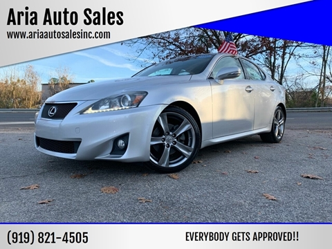 2011 Lexus IS 250 for sale at ARIA AUTO SALES in Raleigh NC