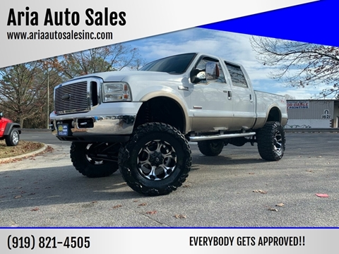 2006 Ford F-250 Super Duty for sale at ARIA AUTO SALES in Raleigh NC