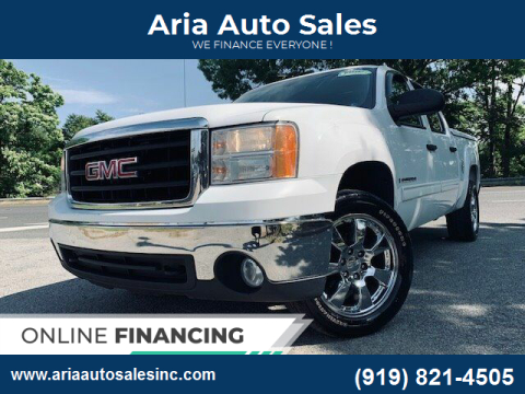 2008 GMC Sierra 1500 for sale at ARIA AUTO SALES in Raleigh NC