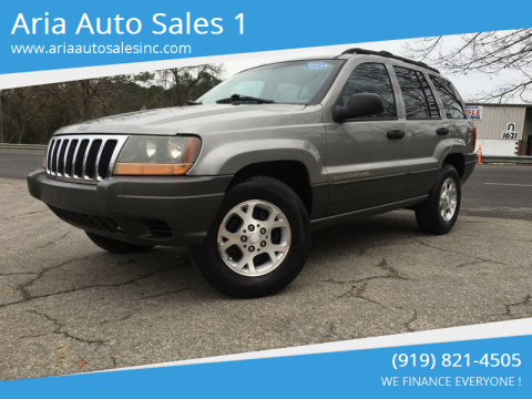 2001 Jeep Grand Cherokee for sale at ARIA AUTO SALES in Raleigh NC