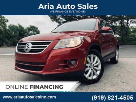 2011 Volkswagen Tiguan for sale at ARIA AUTO SALES in Raleigh NC