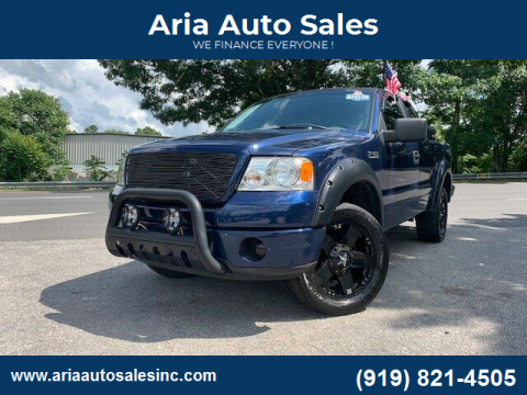 2008 Ford F-150 for sale at ARIA AUTO SALES in Raleigh NC