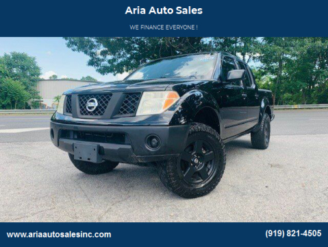 2008 Nissan Frontier for sale at ARIA AUTO SALES in Raleigh NC
