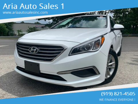 2017 Hyundai Sonata for sale at ARIA AUTO SALES in Raleigh NC