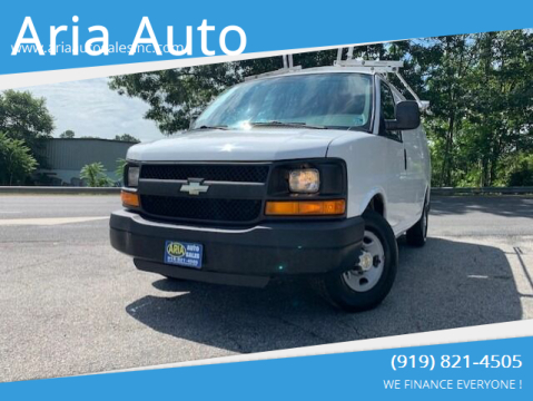 2012 Chevrolet Express Cargo for sale at ARIA AUTO SALES in Raleigh NC