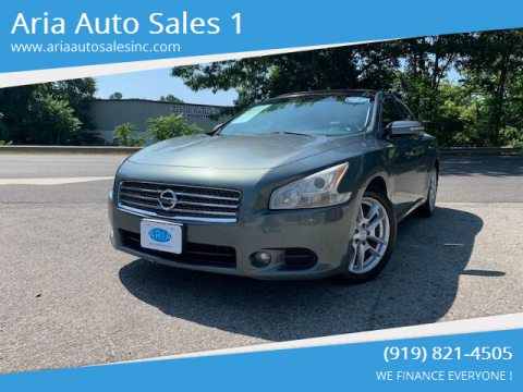 2010 Nissan Maxima for sale at ARIA AUTO SALES in Raleigh NC