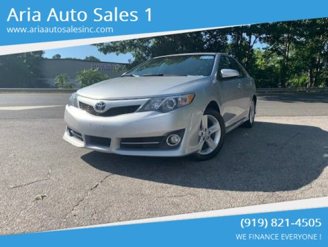 Toyota Camry For Sale In Raleigh Nc Aria Auto