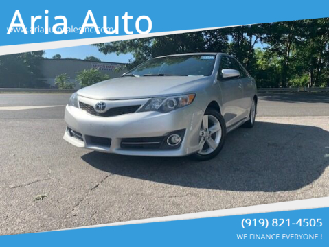 2013 Toyota Camry for sale at ARIA AUTO SALES in Raleigh NC