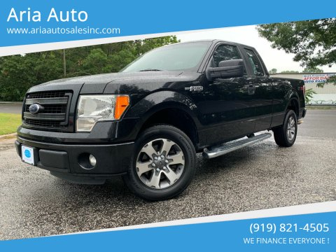 2013 Ford F-150 for sale at ARIA AUTO SALES in Raleigh NC