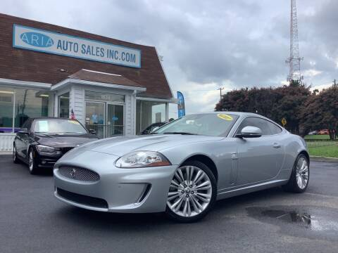 2010 Jaguar XK for sale at ARIA AUTO SALES in Raleigh NC