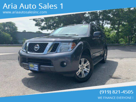 2012 Nissan Pathfinder for sale at ARIA AUTO SALES in Raleigh NC