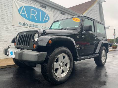 2009 Jeep Wrangler for sale at ARIA AUTO SALES INC.COM in Raleigh NC