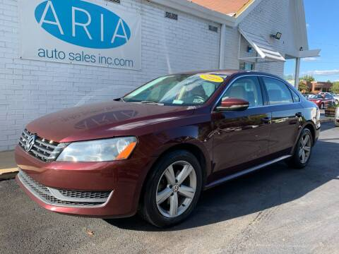 2012 Volkswagen Passat for sale at ARIA AUTO SALES INC.COM in Raleigh NC