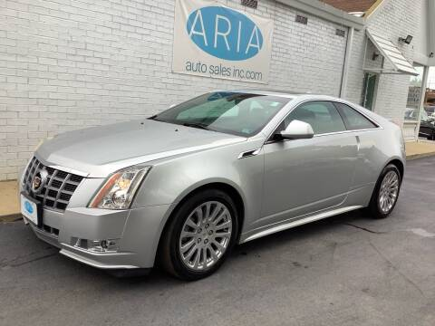 2012 Cadillac CTS for sale at ARIA AUTO SALES INC.COM in Raleigh NC