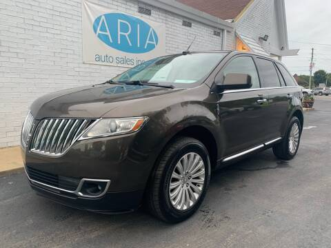 2011 Lincoln MKX for sale at ARIA AUTO SALES in Raleigh NC