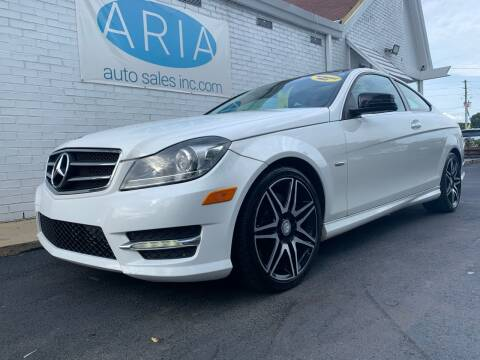 2014 Mercedes-Benz C-Class for sale at ARIA AUTO SALES in Raleigh NC