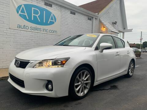 2011 Lexus CT 200h for sale at ARIA AUTO SALES INC.COM in Raleigh NC