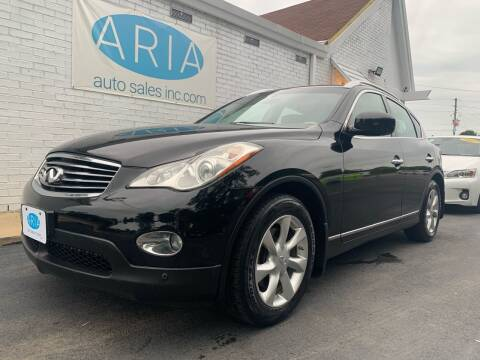 2010 Infiniti EX35 for sale at ARIA AUTO SALES in Raleigh NC