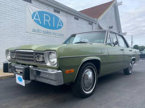 1973 Dodge Valiant for sale at ARIA AUTO SALES in Raleigh NC