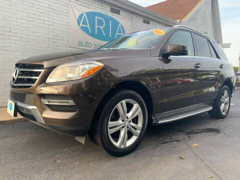 2013 Mercedes-Benz M-Class for sale at ARIA AUTO SALES in Raleigh NC