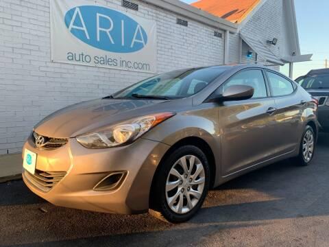 2012 Hyundai Elantra for sale at ARIA AUTO SALES in Raleigh NC