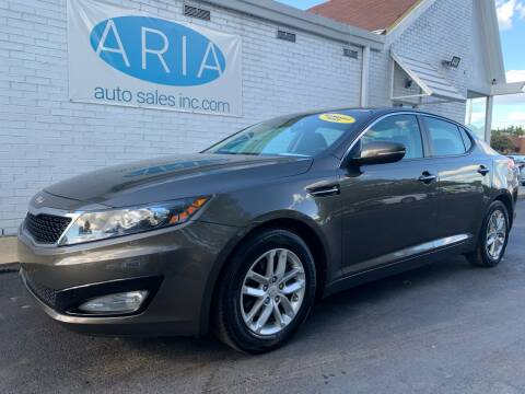 2013 Kia Optima for sale at ARIA AUTO SALES in Raleigh NC