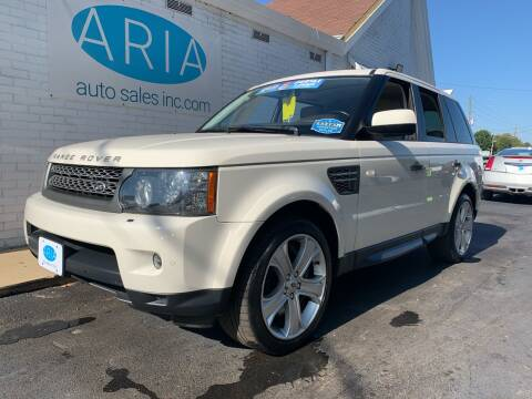 2010 Land Rover Range Rover Sport for sale at ARIA AUTO SALES in Raleigh NC