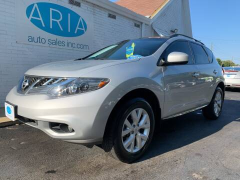 2014 Nissan Murano for sale at ARIA AUTO SALES in Raleigh NC