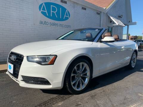 2014 Audi A5 for sale at ARIA AUTO SALES in Raleigh NC