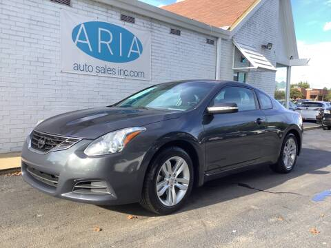 2013 Nissan Altima for sale at ARIA AUTO SALES in Raleigh NC