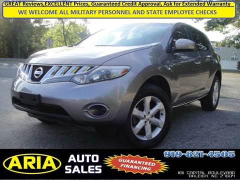 2010 Nissan Murano for sale at ARIA AUTO SALES in Raleigh NC