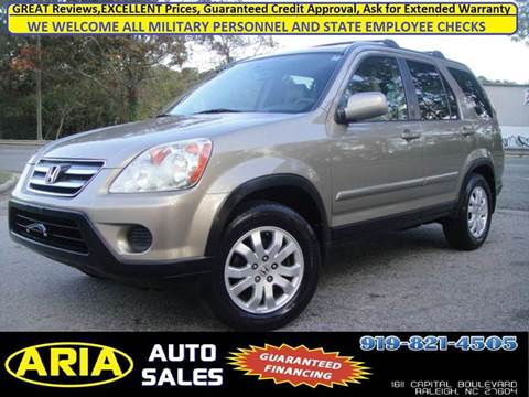2005 Honda CR-V for sale at ARIA AUTO SALES in Raleigh NC