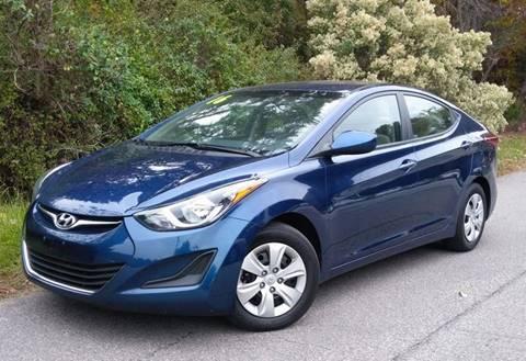 2016 Hyundai Elantra for sale at BP Auto Finders in Durham NC
