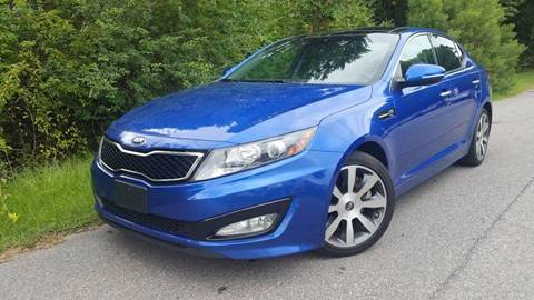 2013 Kia Optima for sale at BP Auto Finders in Durham NC
