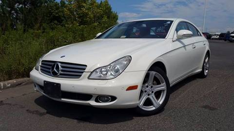 2007 Mercedes-Benz CLS for sale at BP Auto Finders in Durham NC