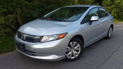 2012 Honda Civic for sale at BP Auto Finders in Durham NC