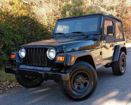 2000 Jeep Wrangler for sale at BP Auto Finders in Durham NC