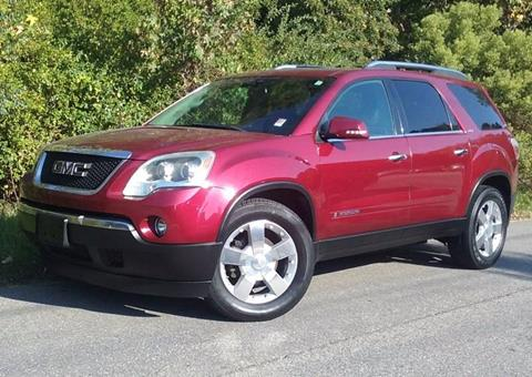 2008 GMC Acadia for sale at BP Auto Finders in Durham NC