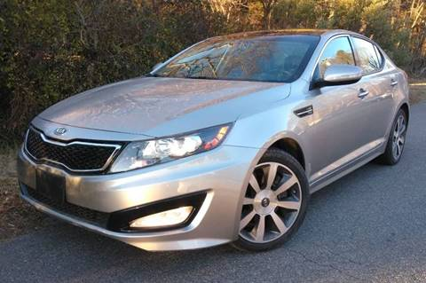 2012 Kia Optima for sale at BP Auto Finders in Durham NC