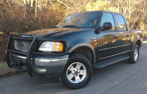 2002 Ford F-150 for sale at BP Auto Finders in Durham NC