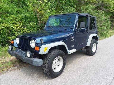 2001 Jeep Wrangler for sale at BP Auto Finders in Durham NC