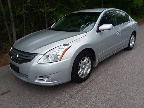 2012 Nissan Altima for sale at BP Auto Finders in Durham NC