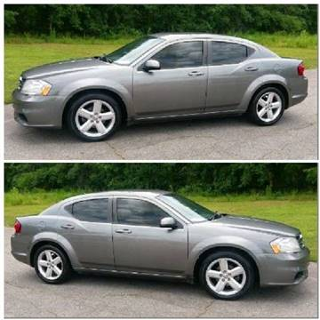 2013 Dodge Avenger for sale at BP Auto Finders in Durham NC