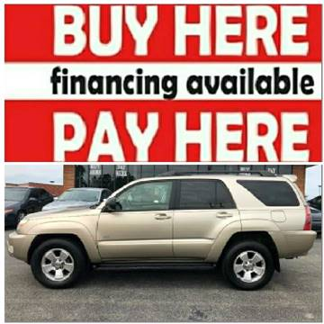 2004 Toyota 4Runner for sale at BP Auto Finders in Durham NC